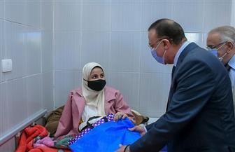 محافظ الإسكندرية يزور مستشفى الطلبة للوقوف على الإجراءات الاحترازية داخل المستشفيات | صور