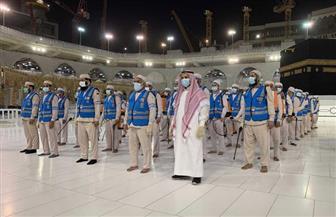 4500 لتر من المعقمات و450 عاملا لتعقيم المسجد الحرام