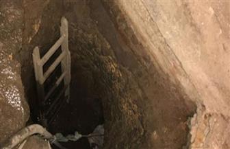 ضبط شخص ونجله للتنقيب عن الآثار أسفل منزلهما وكشف جدار أثري بالمنيا