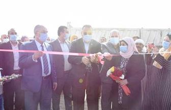 محافظ الشرقية يفتتح النقطة الوسيطة الجديدة في «ههيا» لتجميع القمامة والمخلفات