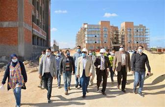 جامعة مطروح: إنشاء معامل وورش بالمقر الجديد | صور