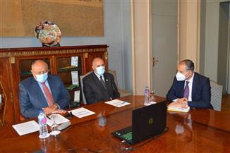 وزيرا الخارجية والري يشاركان في اجتماع  تفاوضي حول ملء وتشغيل سد النهضة| صور