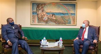 وزير الري يطلع نظيره الكونغولي على تطورات مفاوضات السد الإثيوبي.. ويبحثان افتتاح مركز للتنبؤ في كينشاسا| صور