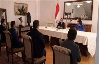 خريجو البوسنة والهرسك يستعرضون انتهاجهم الخطاب الدعوي المعتدل الذى يقوده الأزهر الشريف