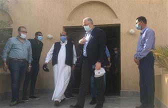 وزير الزراعة ومحافظ مطروح يفتتحان المبنى الإداري لمحطة بحوث سيوة | صور