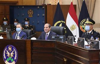 الرئيس السيسي يتفقد أكاديمية الشرطة ويحضر اختبار کشف الهيئة للطلبة المتقدمين |صور