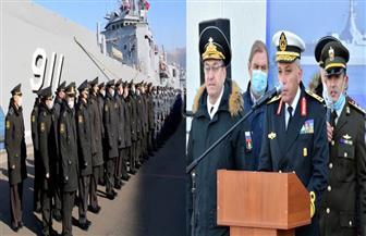 انطلاق فاعليات التدريب البحرى المصرى الروسى المشترك (جسر الصداقة – 3) | صور