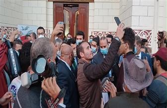 وزير الشباب والرياضة يصل إلى محطة مصر لتدشين مشروع قطار الشباب