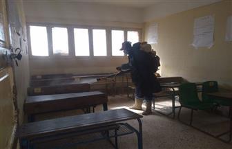 """""""مرسى مطروح"""" تعلن إنارة وتعقيم مقرات ولجان انتخابات جولة الإعادة لمجلس النواب  صور"""