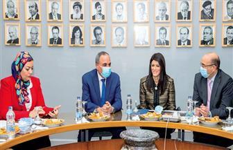 وزيرة التعاون الدولى فى ندوة  بـ«الأهرام »: 25 مليار دولار إجمالى محفظة التعاون الدولى بأجندة 2030