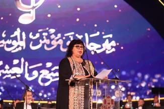وزيرة الثقافة: مهرجان الموسيقى العربية نموذج لقوة مصر الناعمة| صور