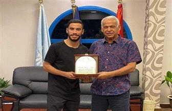 سموحة يكرم ناصر ماهر بعد انتهاء إعارته