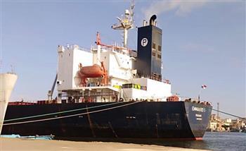 تداول 24 سفينة وتفريغ 56450 طن قمح روسي بموانئ بورسعيد