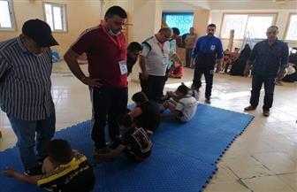 إجراء اختبارات المشروع القومي للموهبة والبطل الأوليمبي في لعبة رفع الأثقال بالدقهلية  صور