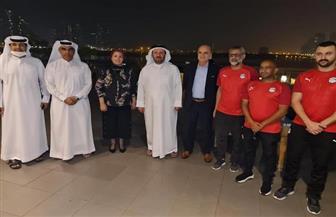الاتحاد الإمارتي يكرم سحر عبد الحق ويدعم مصر في كأس العالم للصالات | صور