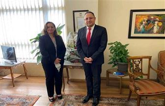 """""""الأمين العام للوكالة المصرية"""" يلتقي بالمدير التنفيذي للمعهد القومي للحوكمة والتنمية"""