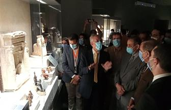 محافظ كفر الشيخ يتفقد متحف الآثار ويفتتح معرض «تراث مصر» | صور