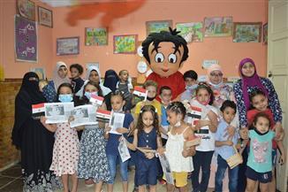 مجلة «علاء الدين» تستكمل أنشطتها الفنية خارج مقر المجلة | صور