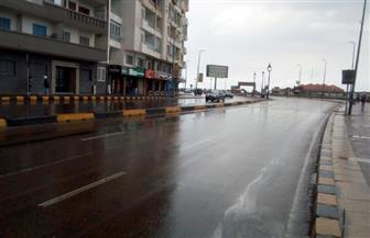 """""""المكنسة"""" تضرب الإسكندرية بأمطار رعدية غزيرة مع انخفاض درجات الحرارة   صور وفيديو"""