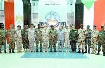 رئيس الأركان يشهد المرحلة الرئيسية للتدريب الجوي المصري السوداني