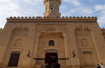 وزيرا الأوقاف والسياحة يفتتحان مسجد الإمام الشافعي   صور