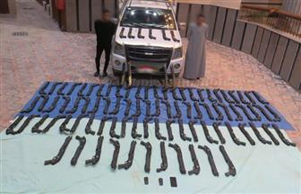 ضبط 94 بندقية خرطوش بحوزة اثنين من العناصر الإجرامية بمطروح