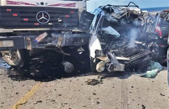 مصرع-سائق-في-حادث-تصادم-سيارتي-نقل-بالسويس-