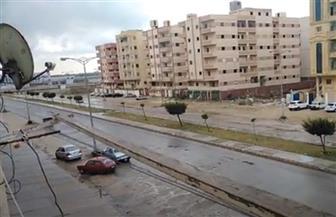 الأمطار تضرب عددا من مناطق دمياط  فيديو