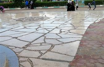 الفيوم تتعرض لسقوط أمطار على مختلف الأنحاء