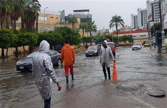 ننشر تفاصيل مواجهة الهلال الأحمر لتداعيات الطقس السيئ  صور