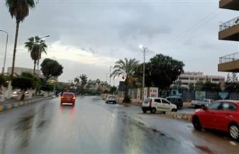 أمطارغزيرة على مدن ومراكز الإسماعيلية| صور