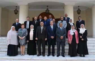 معهد الدراسات الدبلوماسية يختتم الدورة التدريبية لكوادر هيئة المحطات النووية لتوليد الكهرباء