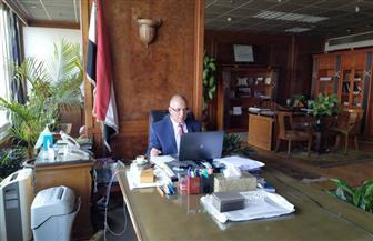 وزير الري يستعرض مع البنك الدولي إصلاحات البنية التحتية للموارد المائية|صور
