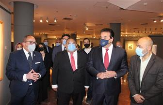 وزير التعليم العالي يوجه بالانتهاء من المتحف الفني المعاصر بجامعة حلوان|صور