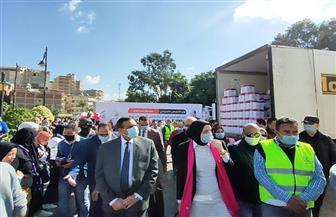محافظ البحيرة يشهد إطلاق حملة «نتشارك عشان بكره» لرعاية مليون أسرة|صور