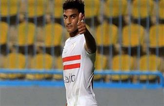 أسامة فيصل يتعادل للزمالك بهدف في شباك نادي مصر