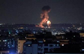 غارات جوية إسرائيلية على مواقع لحماس فى غزة