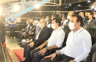 وزير التعليم العالي يشهد انطلاق دوري الوزارات ويشارك فى مباراة استعراضية |صور
