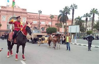 موكب ملوك مصر.. نقل مومياء 22 ملكا وملكة من متحف التحرير إلى «القومي للحضارة » | صور