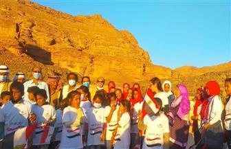 وزيرة الثقافة: قوافل الوديان تستكمل مشروع «أهل مصر» لاكتشاف ودعم مواهب أبناء المناطق الحدودية | صور