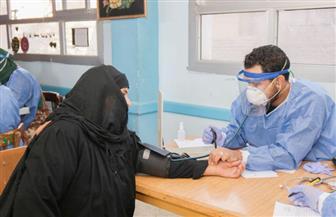 الكشف على 1188 حالة والتوعية بـ«سرطان الثدي» في قافلة جامعة طنطا بقرية سجين الكوم | صور