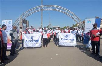 مصر للطيران الناقل الرسمي للاحتفال السنوي الثالث باليوم العالمي للطفل المبتسر |  صور