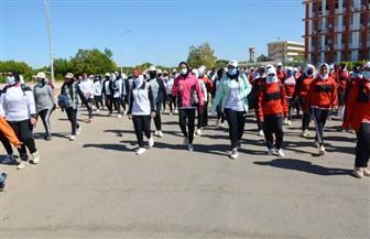 جامعة أسوان تنظم يوما رياضيا للطالبات ضمن مبادرة «الرياضة أمن قومي»