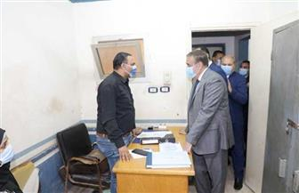 محافظ المنوفية يتفقد مكتب التأمينات الاجتماعية بشبين الكوم | صور