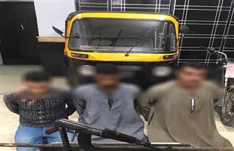 ضبط تشكيل عصابي لسرقة مركبات التوك توك بالإكراه بالأميرية بالقاهرة