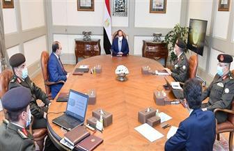 الرئيس السيسي يتابع الموقف التنفيذي لعدد من المشروعات القومية