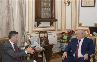 رئيس جامعة القاهرة يستقبل مدير المكتب الإقليمي للوكالة الجامعية الفرنكوفونية |صور