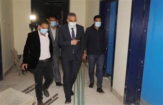 محافظ سوهاج يتفقد أعمال تطوير مستشفى الحميات بتكلفة 10 ملايين جنيه| صور
