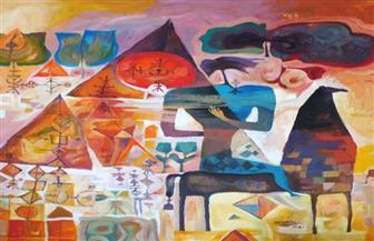 """إتاحة معرض """"خواطر تشكيلية"""" للفنان نبيل راشد """"أون لاين"""""""