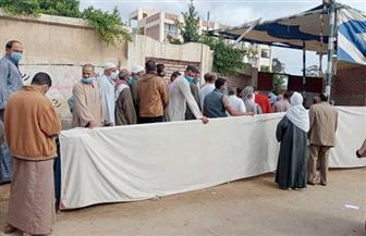 إقبال كبير على اللجان الانتخابية بمركز شبراخيت| صور